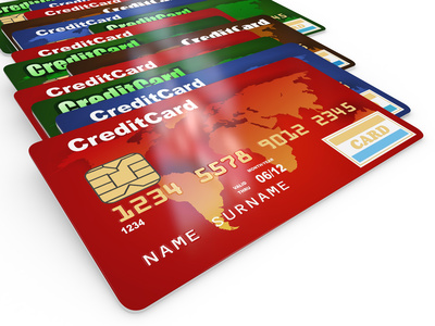 Long line of credit cards (generic)