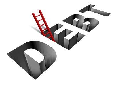 debt pit with ladder
