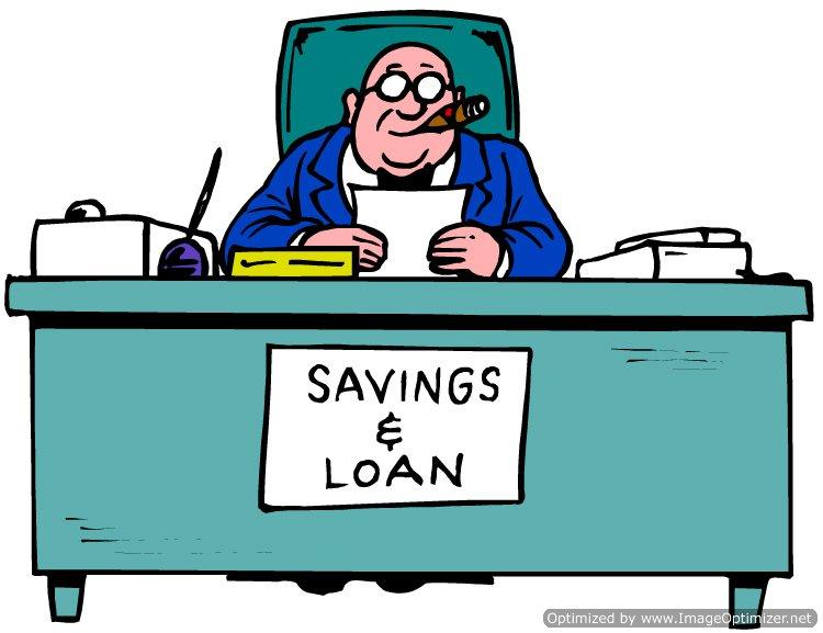 lender behind a desk