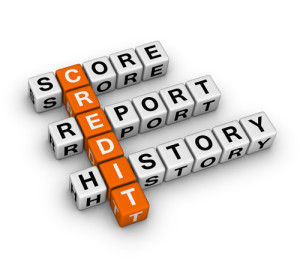 credit score, report and history